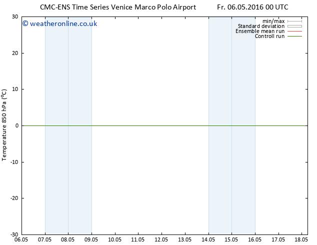 Temp. 850 hPa CMC TS Mo 09.05.2016 00 GMT