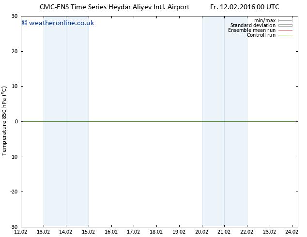 Temp. 850 hPa CMC TS Su 14.02.2016 12 GMT