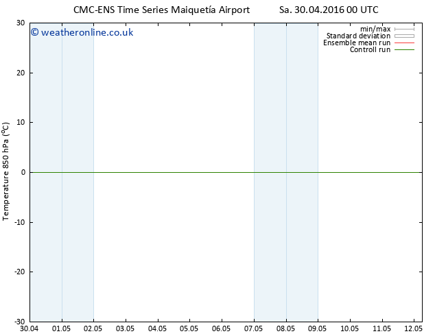 Temp. 850 hPa CMC TS Th 12.05.2016 06 GMT