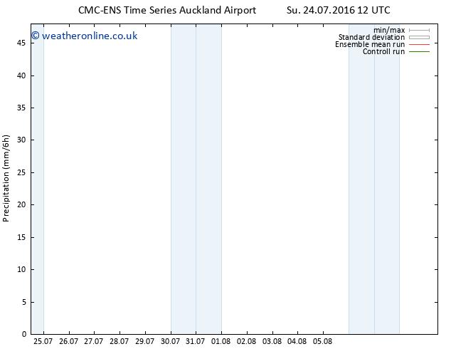 Precipitation CMC TS Sa 30.07.2016 06 GMT